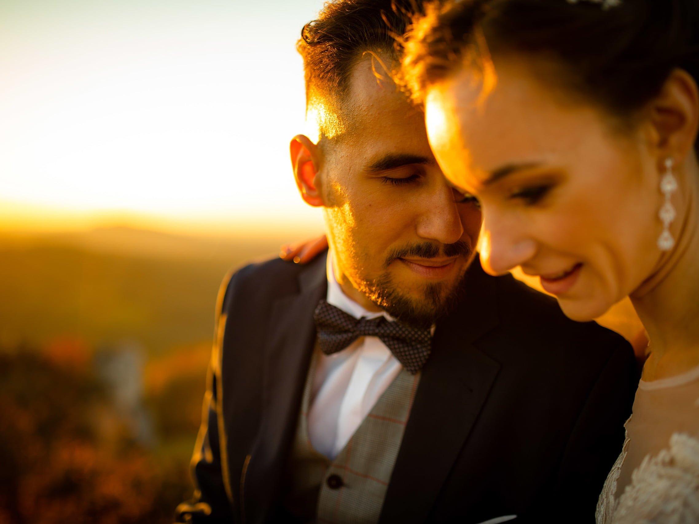 plener ślubny na Górze Zborów